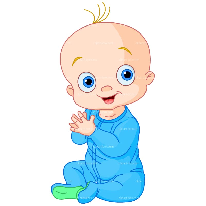 800x800 Cartoon Clipart Baby Boy