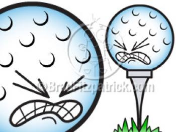 350x263 Cartoon Golf Ball Clipart Picture Royalty Free Golf Ball Clip