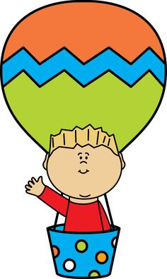 236x395 Free Clip Art Of A Fun Rainbow Striped Hot Air Balloon Sweet