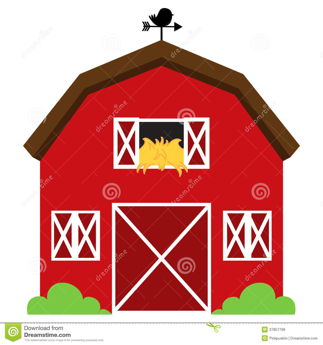 1300x1390 Barn 2 Vector Free Clipart Clip Art Images Image