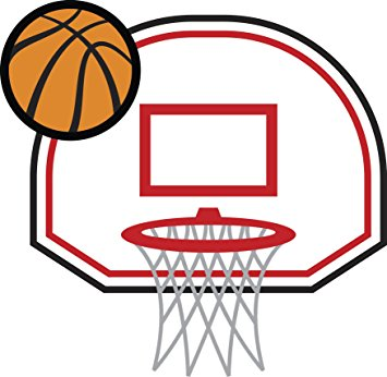 Cartoon Basketball Hoops