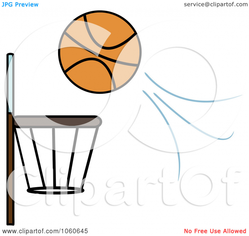 1024x970 How To Draw A Basketball Goal Basketball Hoop With Basketball