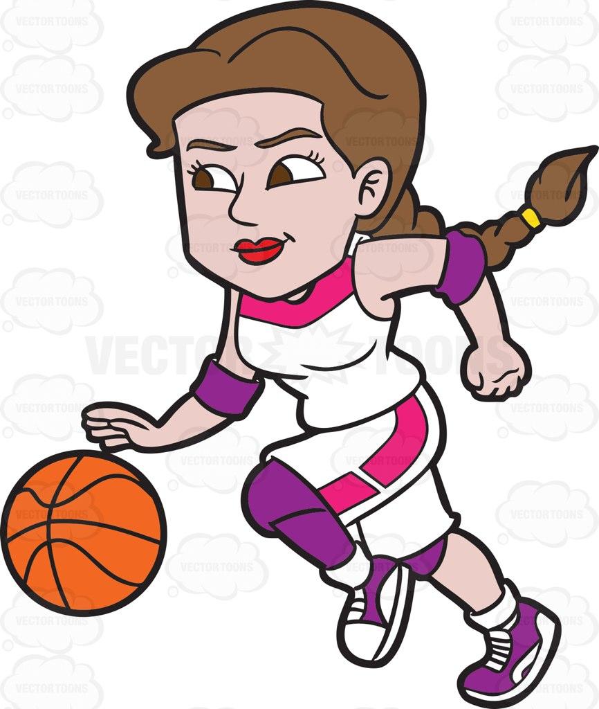 Cartoon Basketball Player Clipart
