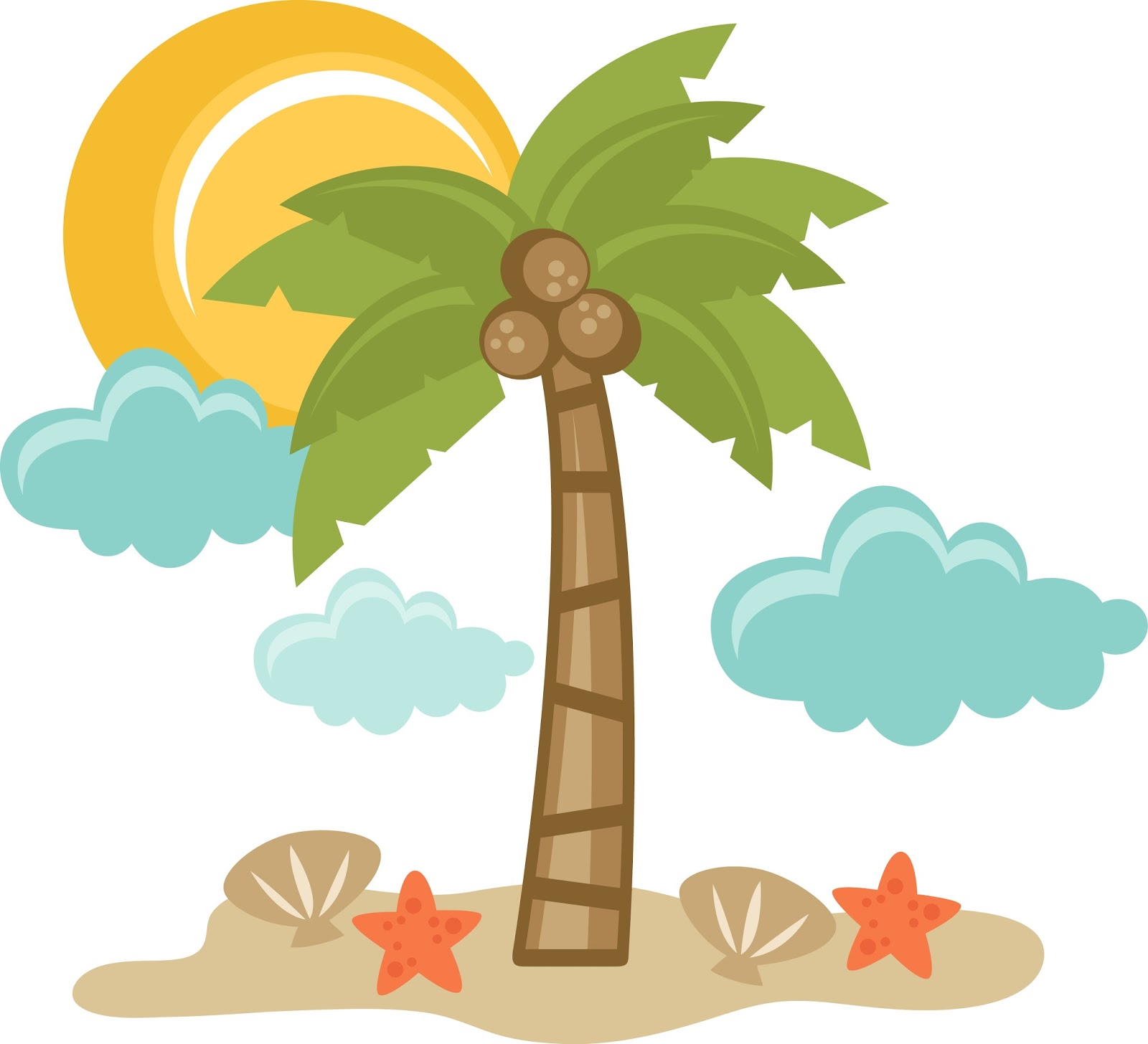 Cartoon Beach Pics Clipart | Free download on ClipArtMag