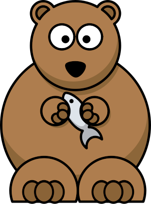 311x420 Free Cartoon Bear Clipart, 1 Page Of Public Domain Clip Art