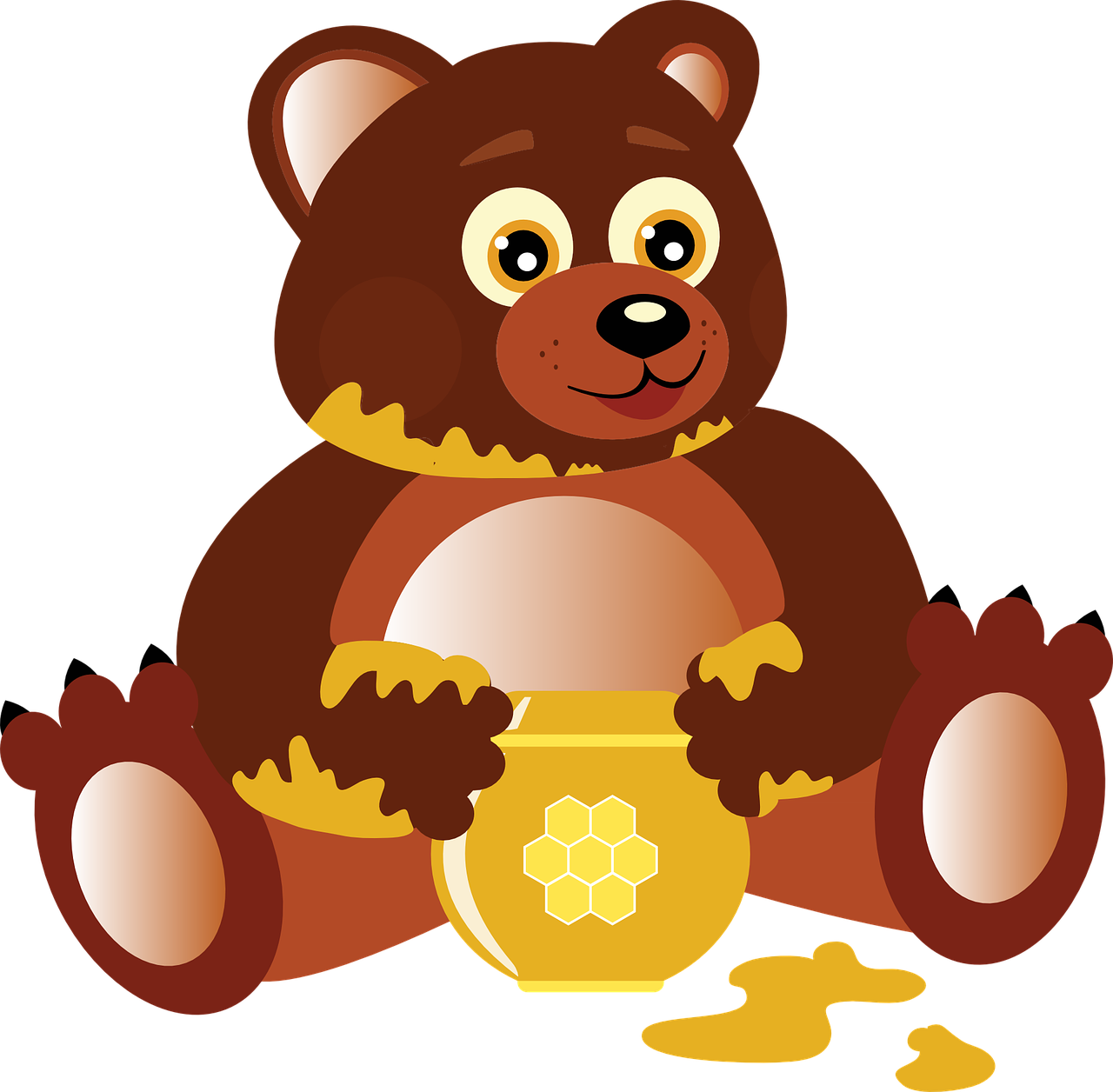 1280x1256 Free To Use Amp Public Domain Bear Clip Art