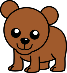 273x300 Baby Cartoon Bear Clip Art