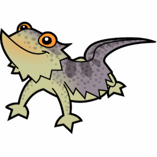 Cartoon Bearded Dragon Clipart