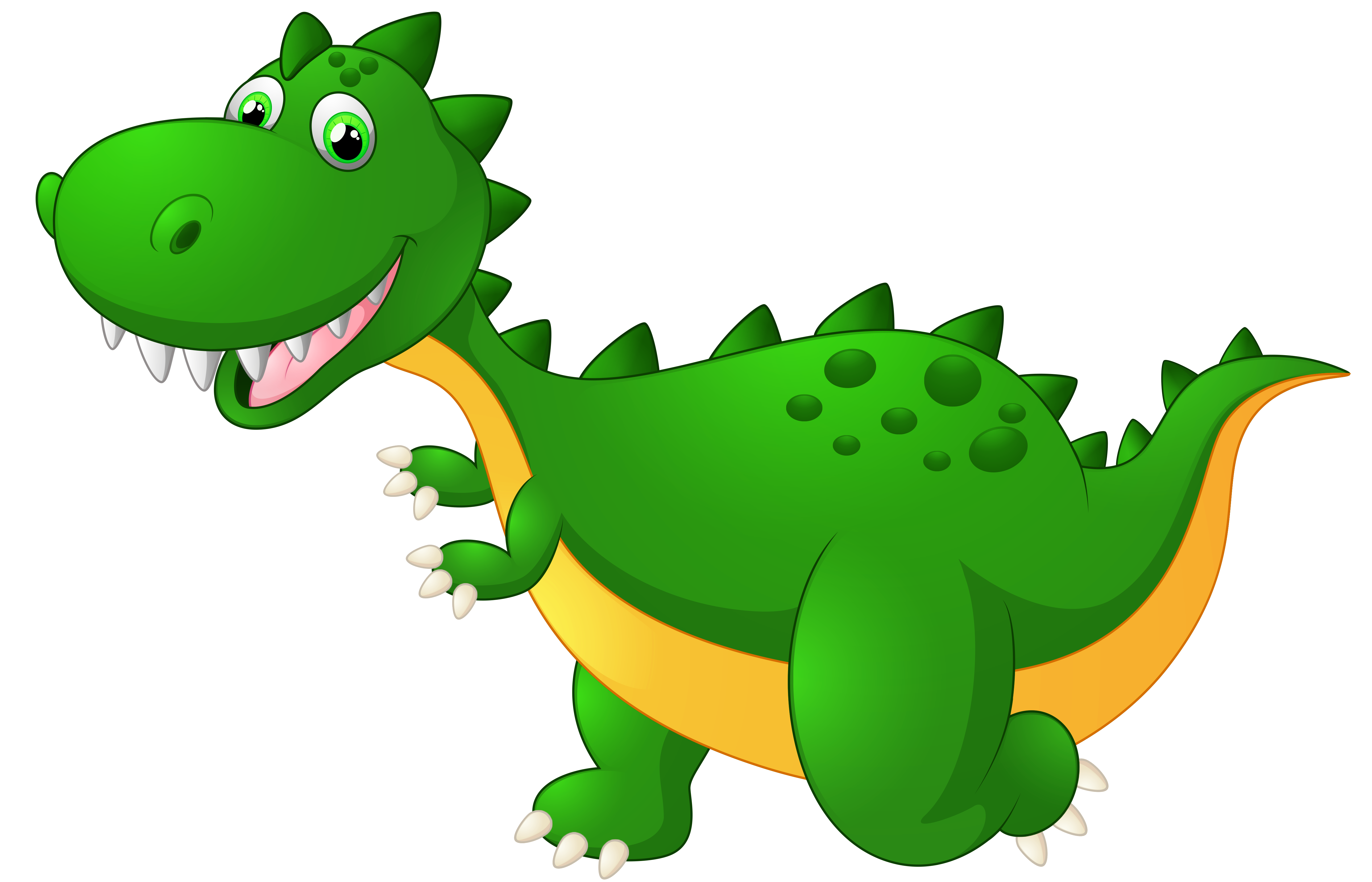 5157x3318 Cute Dragon Clipart Png