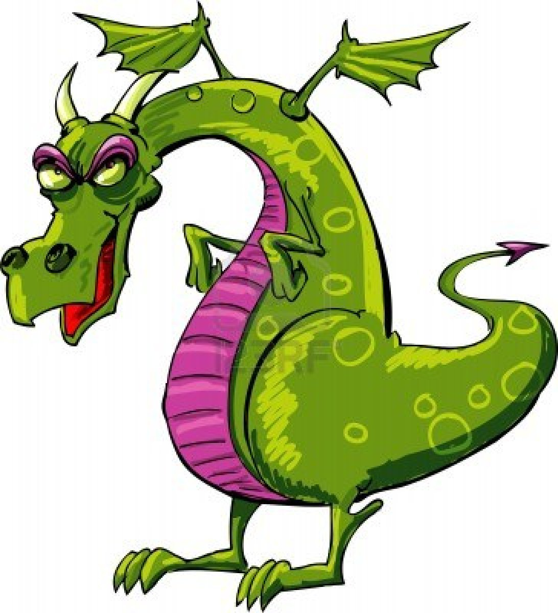 1092x1200 Dragon Cartoon