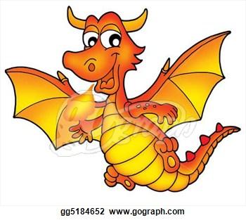 350x313 Dragon Clip Art