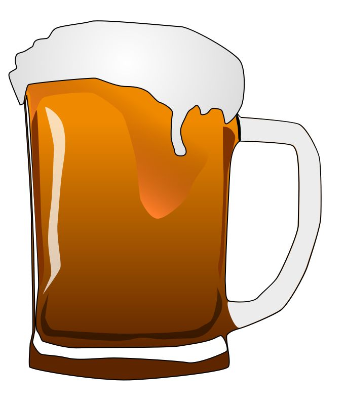 Cartoon Beer Clipart