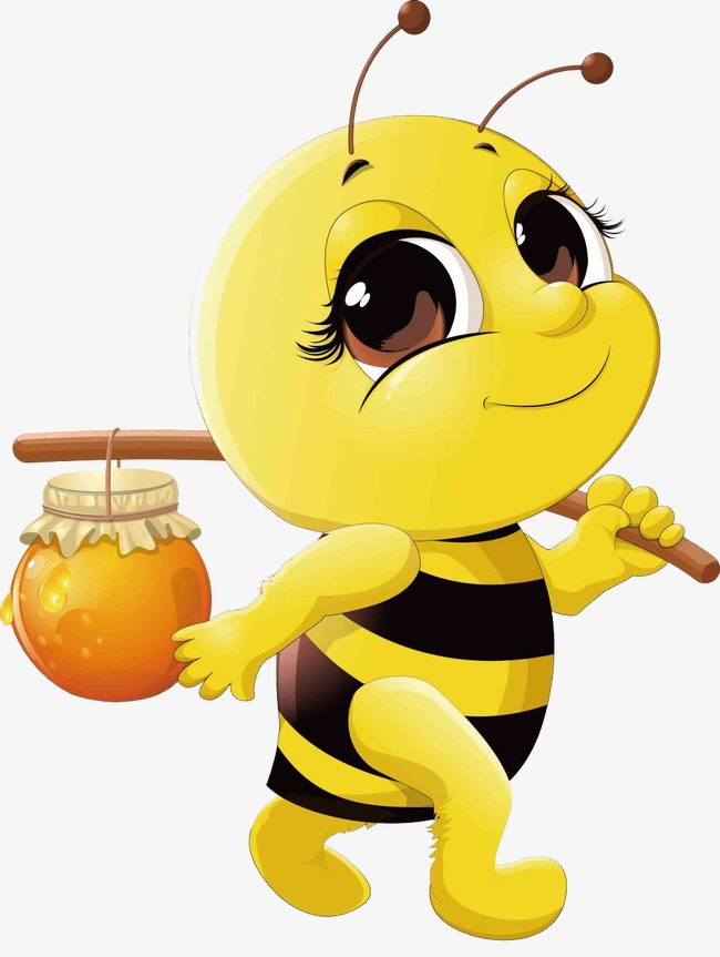 650x863 Pick Honey Bees, Cartoon, Honey, Bee Png Image For Free Download