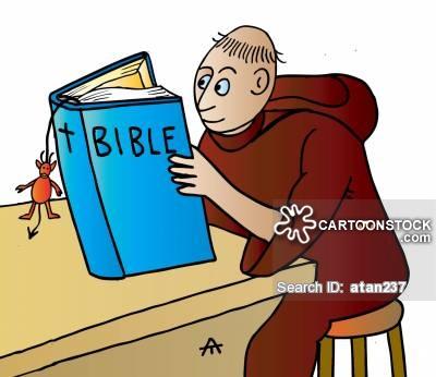 400x346 Bible Reading Cartoons And Comics