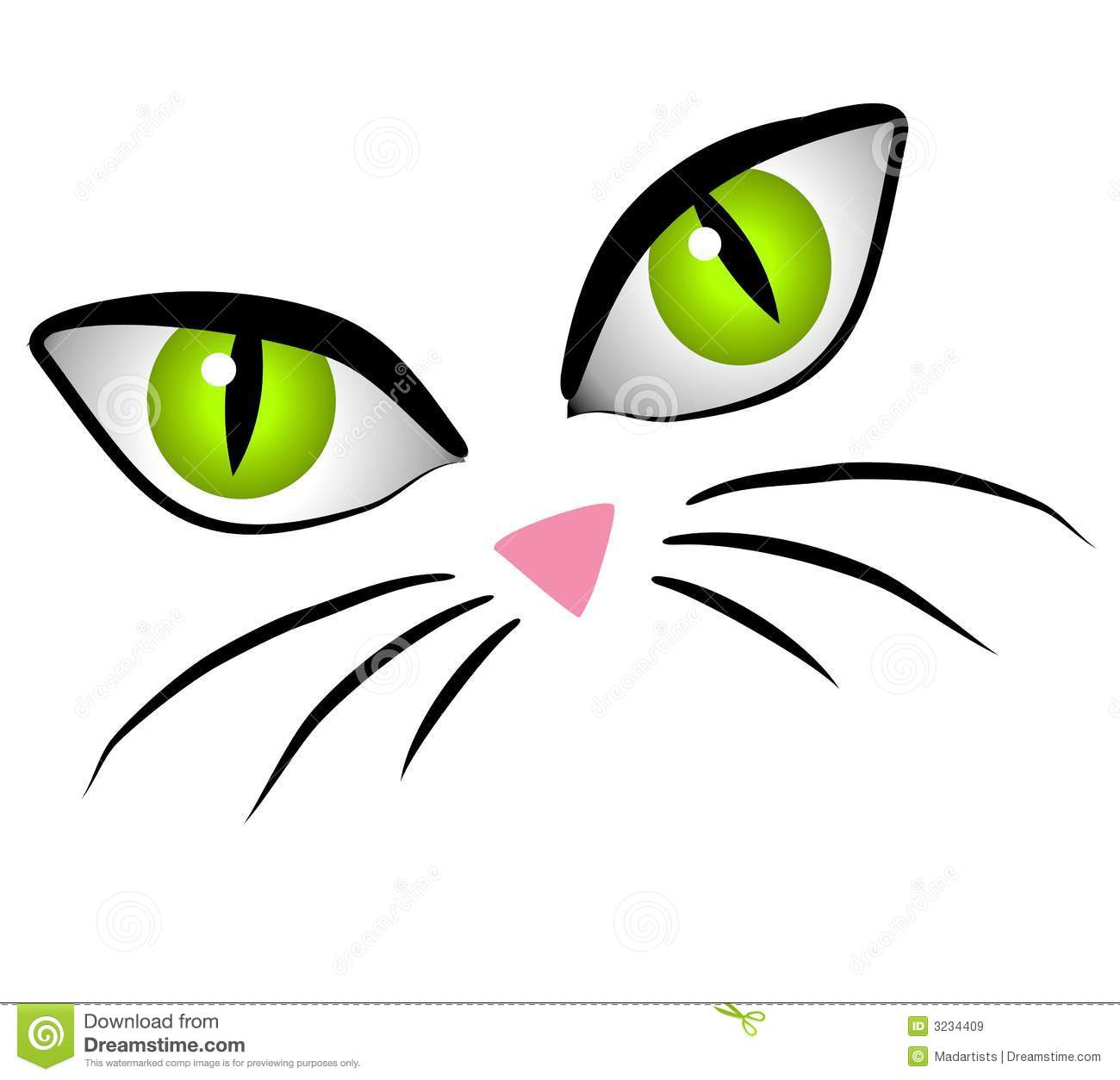 1300x1254 Cartoon Cat With Big Eyes Cute Anime Cat Face Cute Cartoon Cat