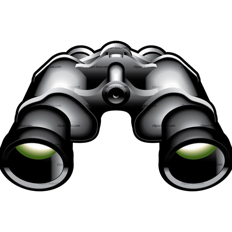 800x800 Binoculars Clipart