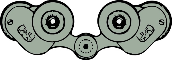 600x209 Binoculars Free Vector Download (71 Free Vector) For Commercial
