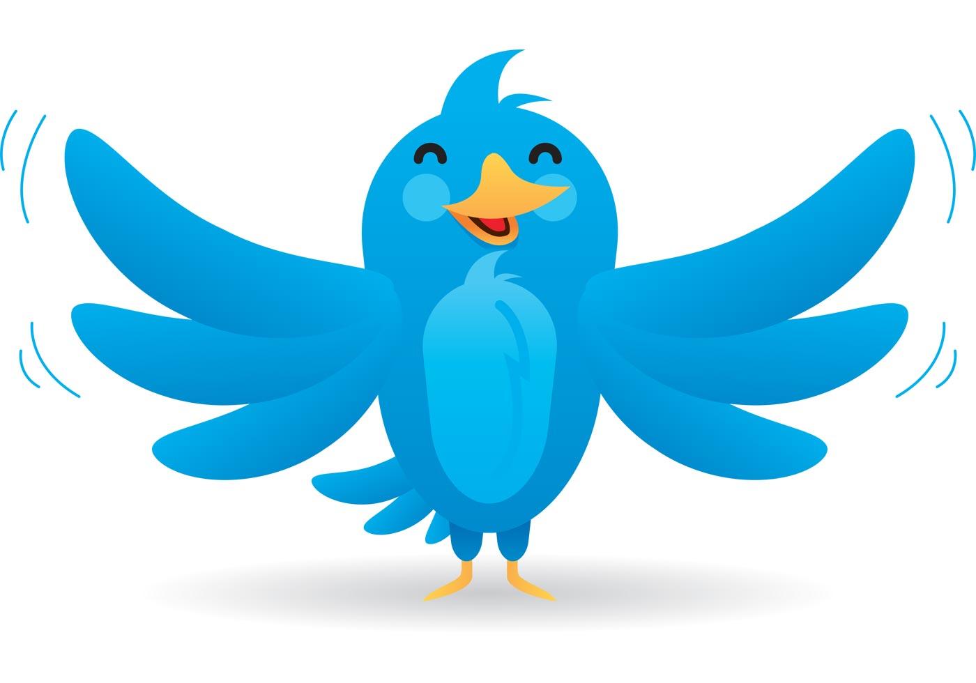 bird vector cartoon clipart mascot tweet clipartmag icons icon vectors