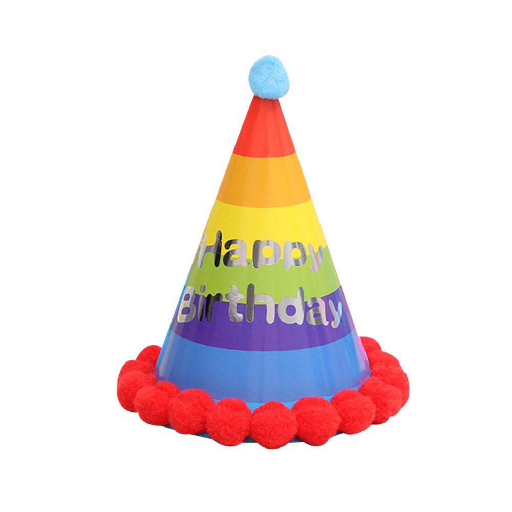 1000x1000 1 Pcs Party Supplies Kids Cartoon Birthday Hat Children Birthday