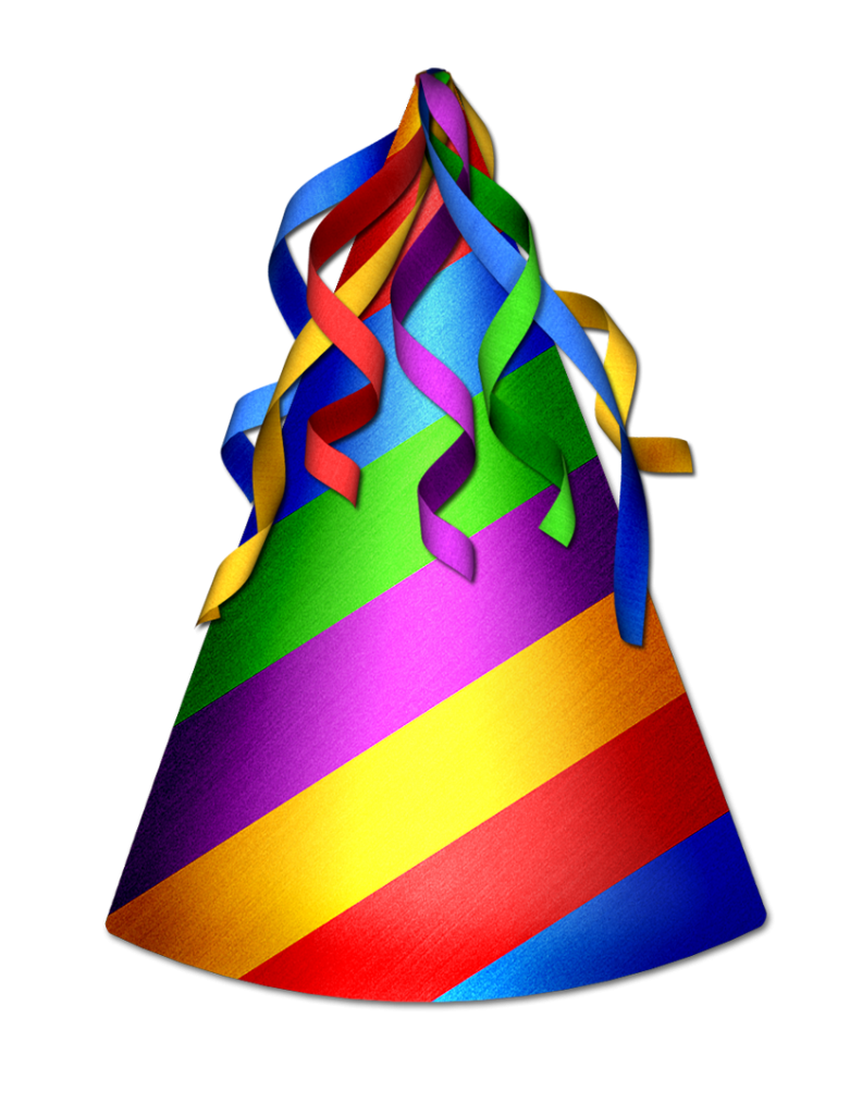 781x1024 Birthday Hat 3 Clipart