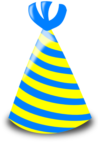 426x600 Birthday Hat Clip Art