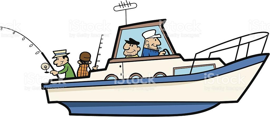 1024x446 Fishing Boat Clipart Boat Captain