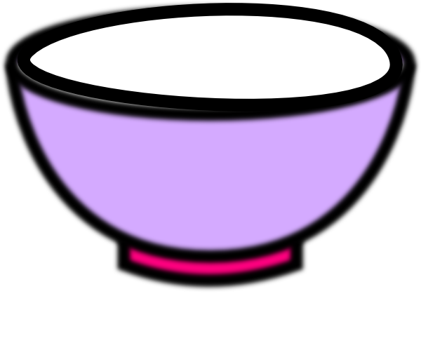 Cartoon Bowl Of Cereal Clipart