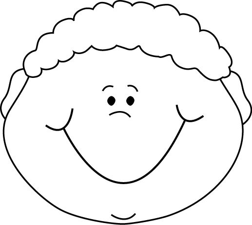 Cartoon Boy Face Clipart