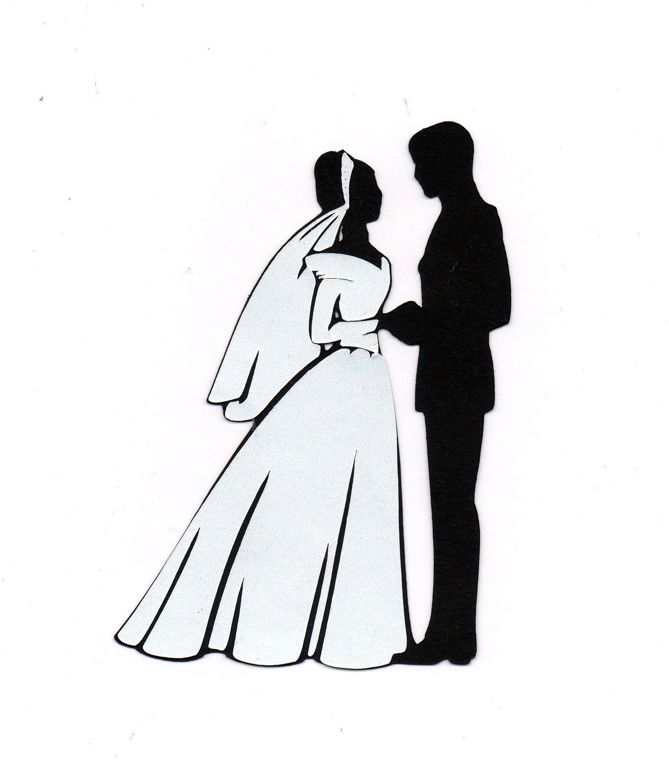 1320x1500 Bride And Groom Clipart 7 Bride And Groom Silhouette Image 2