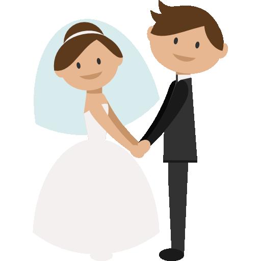 512x512 Bride Clipart Romance