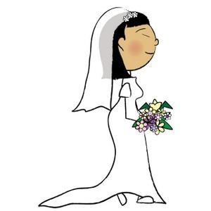 300x300 Top 71 Bride Clip Art