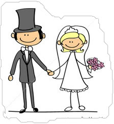 Cartoon Bride And Groom Clipart | Free download on ClipArtMag
