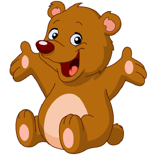 Cartoon Brown Bear Clipart | Free download on ClipArtMag