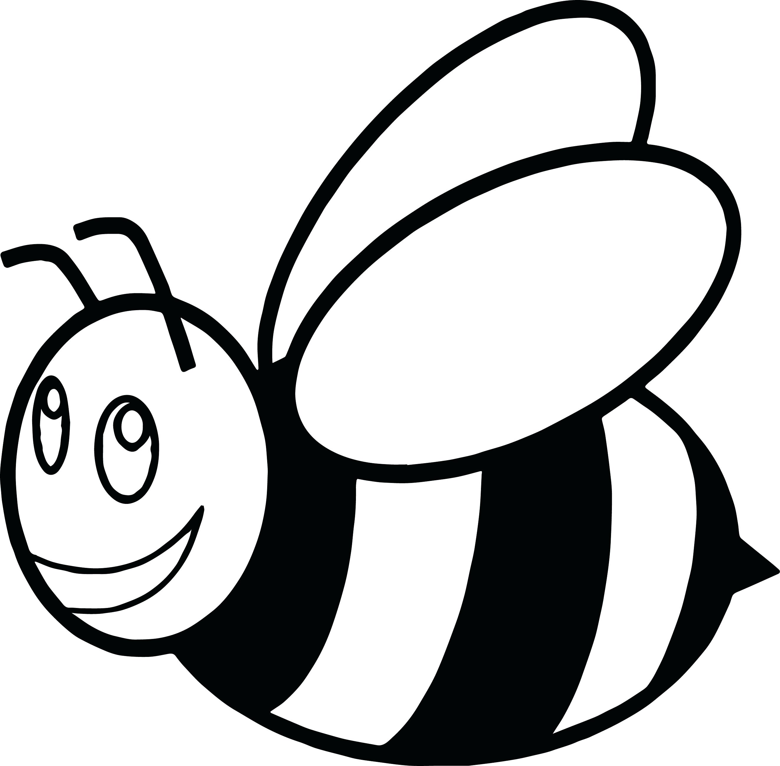 Striking image in bumble bee printable