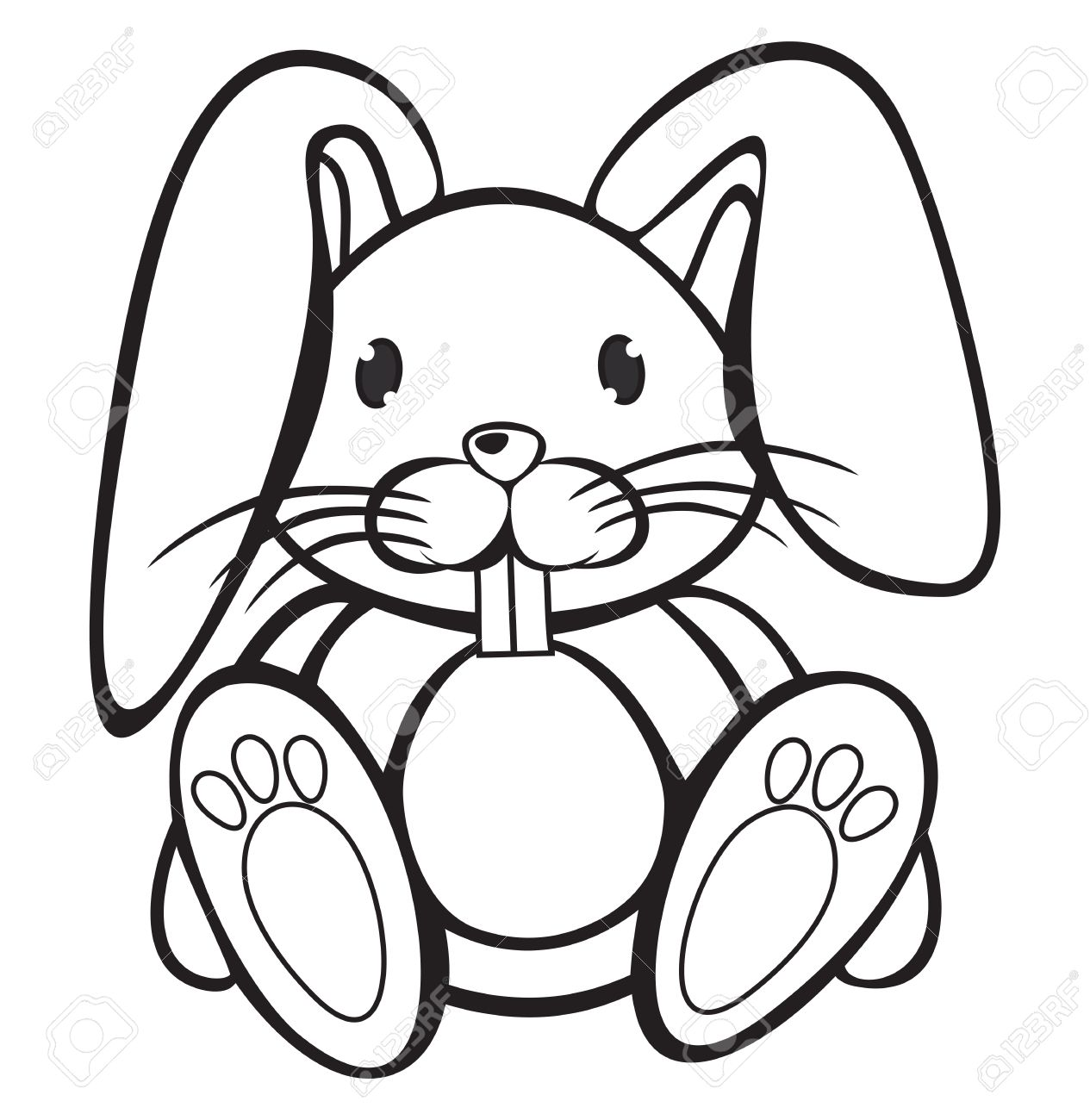 1265x1300 Adult Cute Cartoon Rabbits Cute Cartoon Bunnies Pictures. Cute