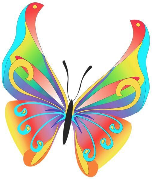 Cartoon Butterfly Clipart | Free download on ClipArtMag