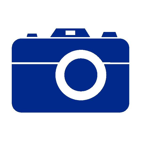 600x600 Blue Camera No Border Clip Art