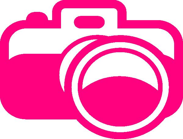 600x455 Pink Camera Clip Art