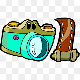 260x260 Cartoon Camera, Video Camera, Cartoon, Expression Png Image