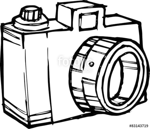 500x429 Cartoon Camera Stock Photo And Royalty Free Images