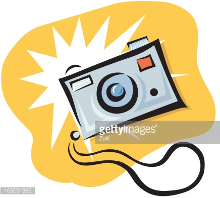 436x394 Flash Clipart Cartoon Camera
