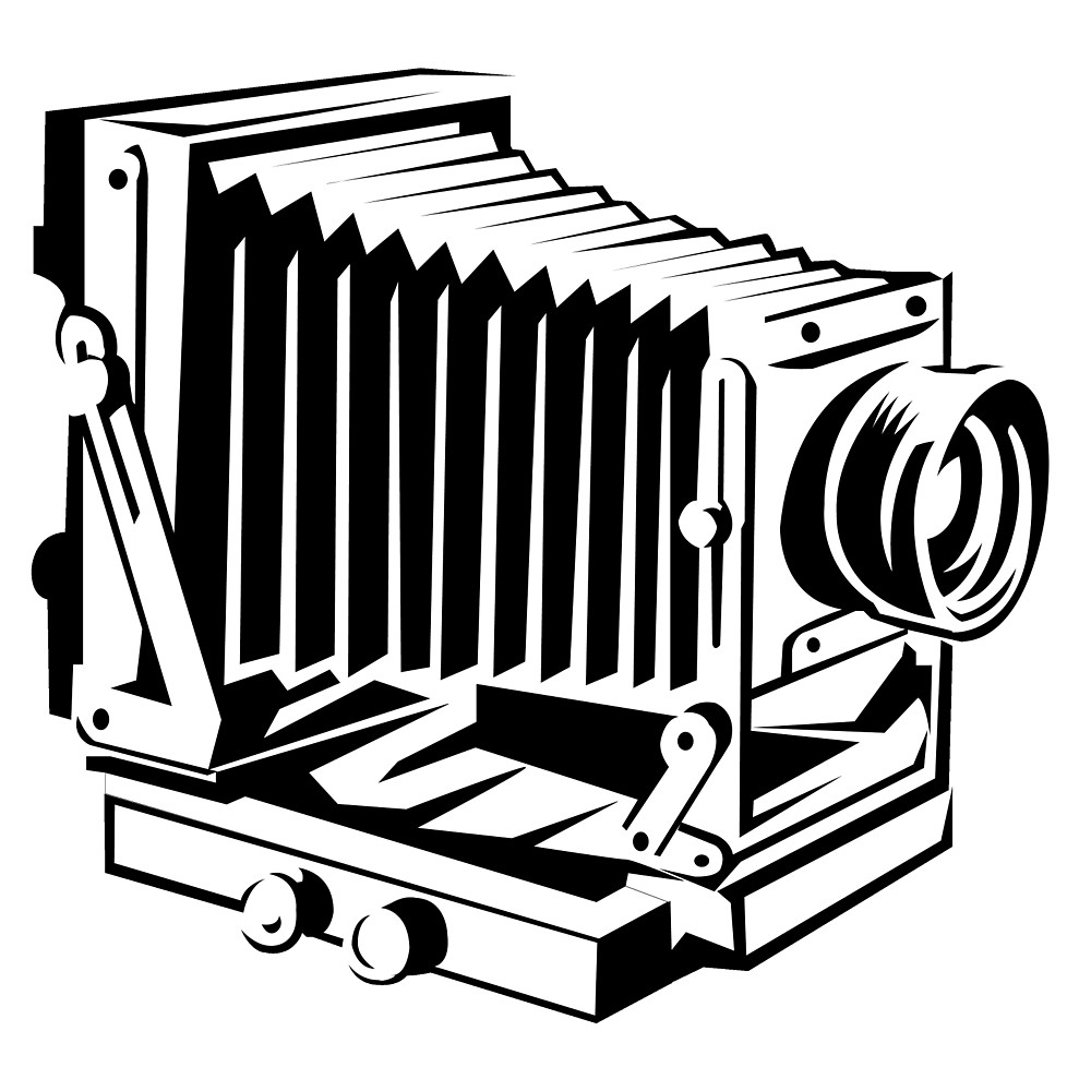 1000x1000 Vintage Camera 1 By Cartoon Redbubble