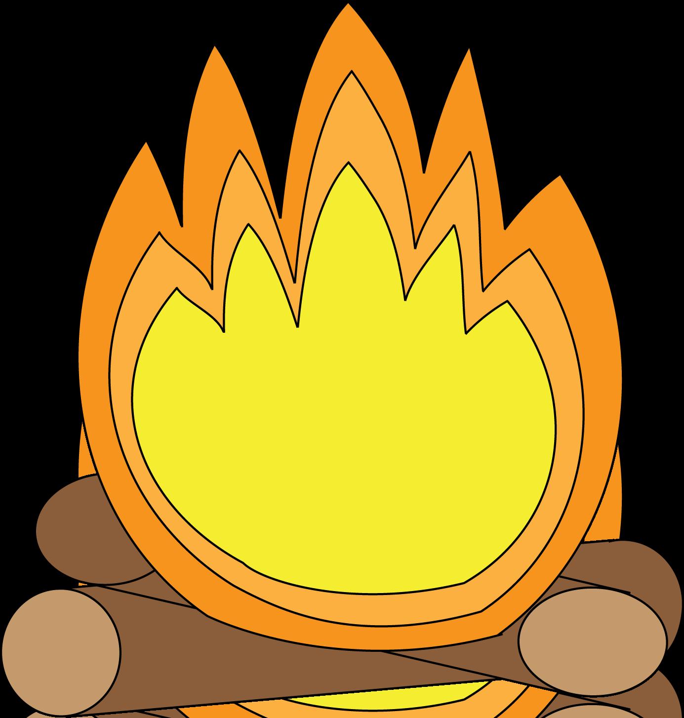 1385x1454 Camp Fire clipart cartoon