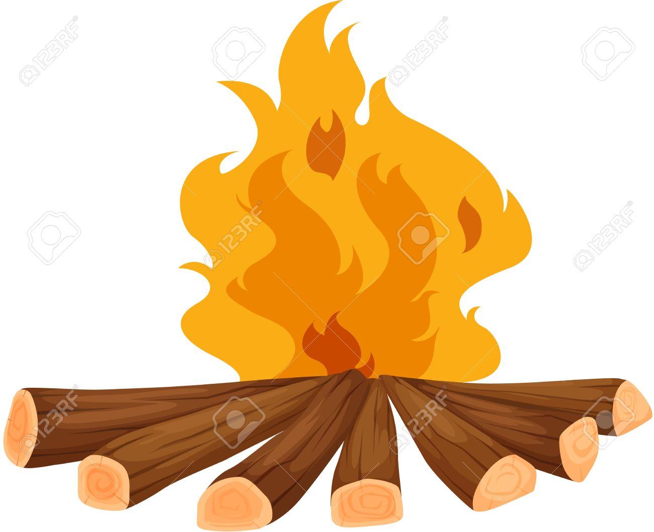 1300x1059 Campfire clipart wood fire