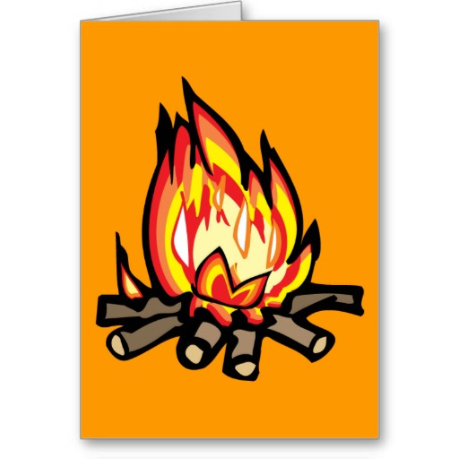 512x512 Cartoon Camp Fire