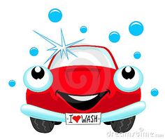 236x198 Cartoon Car With Car Wash Sign Including Vector Format Rebels