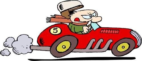 500x217 Cartoon Car Clipart