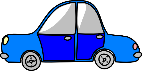 600x299 Cartoon Clipart Car