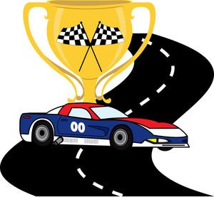 300x277 Race Car Clipart Image Clip Art Of A Cartoon Race