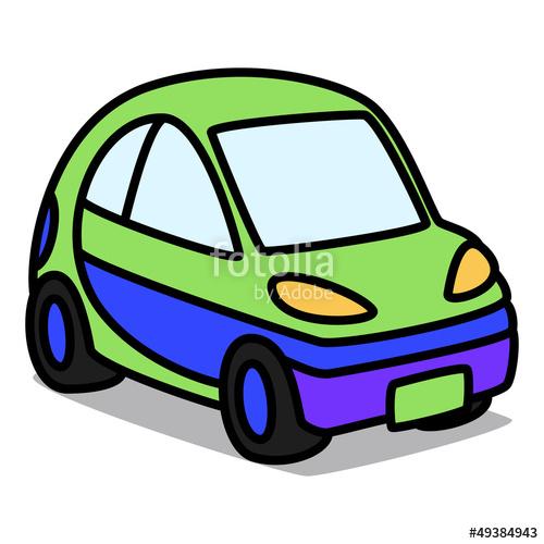 500x500 Cartoon Car 53 Compact Car Stock Image And Royalty Free Vector